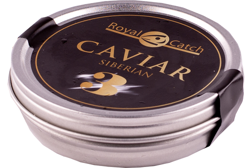 Caviar Siberian royal catch nr. 3 - 125gr