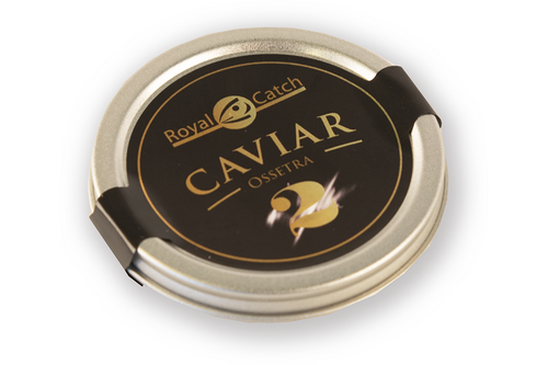 Caviar ossetra royal catch nr. 2 - 125gr