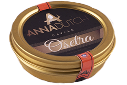 Anna Dutch caviar gold Osetra125gr