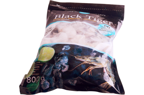 Gamba Black Tiger gepeld 26/30 Royal Catch 1kg
