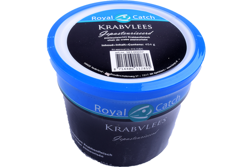 Krabpotenvlees royal catch à 454gr